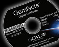 Gemfacts Digital Certification Data Mini-CD